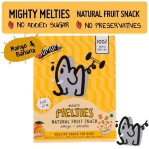 Shop The Mumum Co. - Strawberry Banana Melties - (10g bag X 4) Online