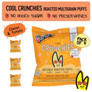 Buy The mumum co. - Multigrain Cheese & Tomato Crunchies - (20g Bag X 4) - (100% Natural) Online