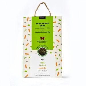 Shop Butterfly Ayurveda - Suprabhat Chai (Tulsi + Green Tea) - 200g Online