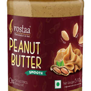 Shop Rostaa - Smooth Peanut Butter - 510g (High Protein) Online