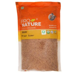 Buy Pro Nature - 100% Organic Brown Sugar - 500g Online