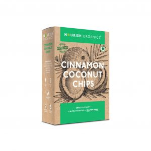 Buy Nourish Organics - Cinnamon Coconut Chips - 90g Online