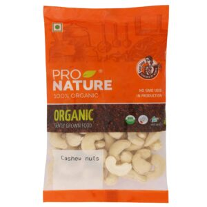 Shop Pro Nature - Cashew Nuts - 100g (100% Organic) Online