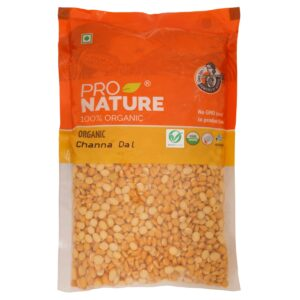 Shop Pro Nature - 100% Organic Roasted Channa Dal - 200g Online