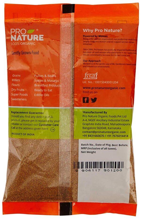 Buy Pro Nature - Cumin Powder - 100g (100% Organic) Online