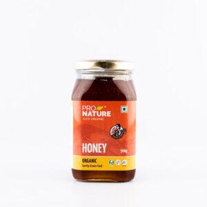 pro-nature-honey-glass-jar-500g