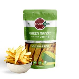 Buy SnackWise - Vacuum Fried Green Mango Fruit Chips - 30g Online