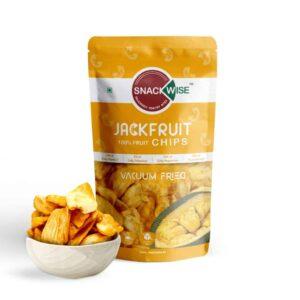 Buy SnackWise - Vacuum Fried Jackfruit Fruit Chips - 30g (Gluten Free) Online