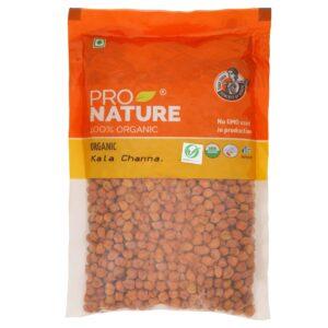 Shop Pro Nature - 100% Organic Kala Channa - 500g Online