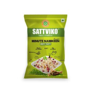 Shop Sattviko - Zesty Tasty Minute Namkeen - 75g Online