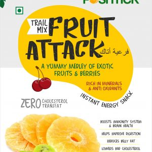 Shop Poshtick - Nature's Candy Fruit Attack Trail Mix - 250g Online