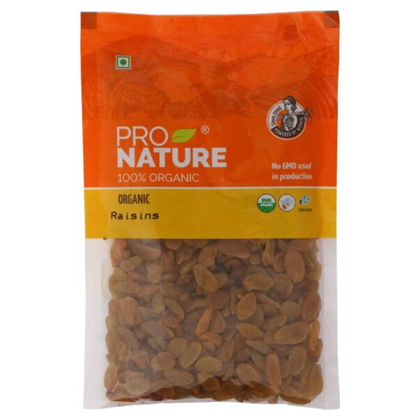 Buy Pro Nature - Raisins - 100g (100% Organic) Online