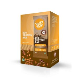 Shop Yoga Bar - Almond Fudge Protein Bar (Pack of 6) - 360g (Gluten Free) Online