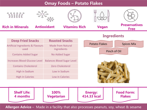 Omay Foods Potato info
