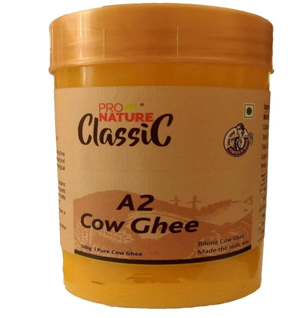 Buy Pro Nature - Classic Cow Ghee (A-2) - 500ml (Glass Jar) Online