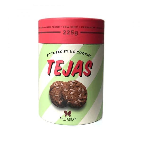 Buy Butterfly Ayurveda - Tejas Cookies - 225g Online
