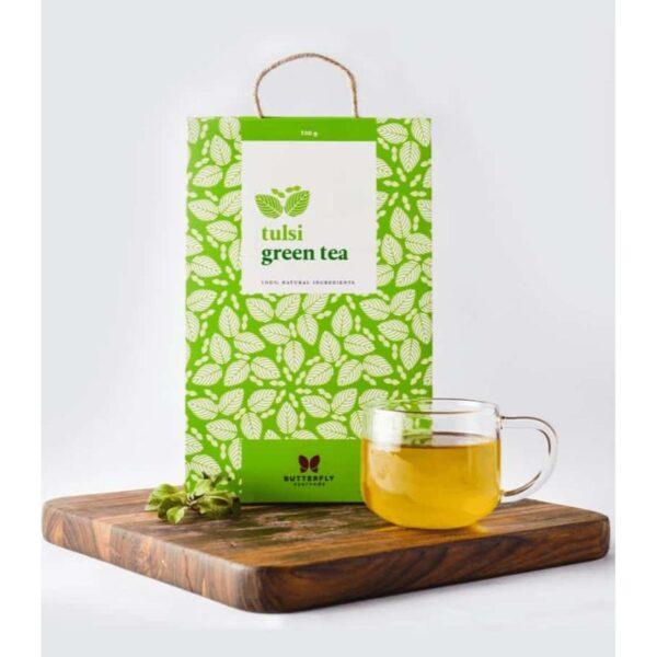 butterfly-ayurveda-tulsi-green-tea-100g