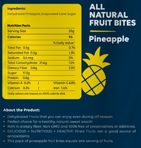 Buy Zealeo - NutNut - All Natural Mango Fruit Bites - (10 x 25g) Online