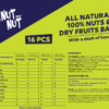 Buy Zealeo - NutNut Assorted 16pc mini bars (16 x 17g) Online