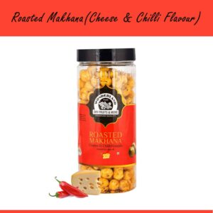 Shop Wonderland Foods -  Cheese and Chilli Roasted Makhana - 100g Online