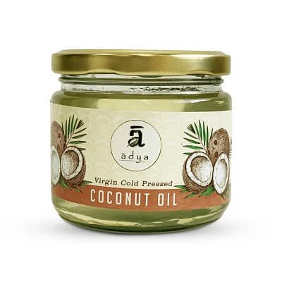 Buy Adya Organics - Virgin Coconut Oil - 500ml (100% Organic) Online
