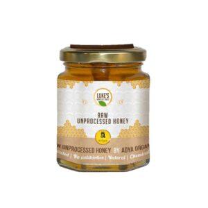 Shop Adya Organics - Raw Mustard Honey - 500g Online
