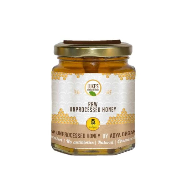 Buy Adya Organics - Raw Mustard Honey - 500g Online