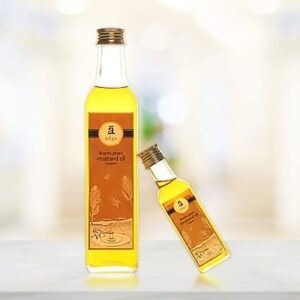 Buy Adya Organics - 100% Organic Cold-pressed Mustard Oil - 1 Litre Online