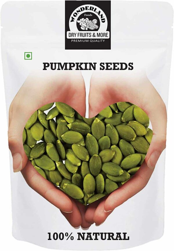 Buy Wonderland Foods - Raw Pumpkin Seeds - 250g (All Natural) Online