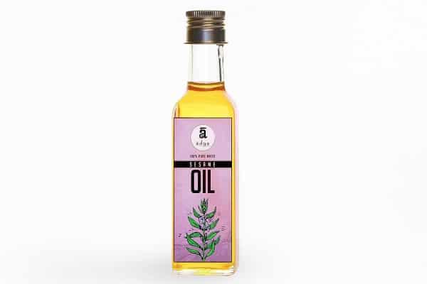 Buy Adya Organics - Sesame Oil - 500ml Online