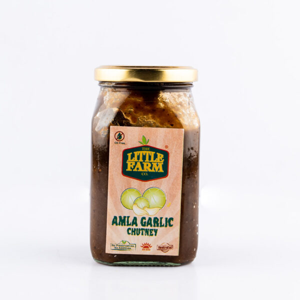 the-little-farm-co-amla-garlic-chutney-relish-400g