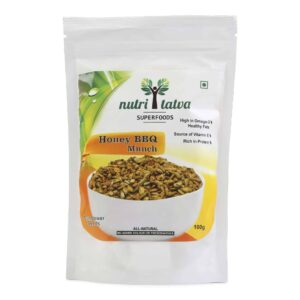 Shop Nutritatva - Honey Barbeque Munch - Sunflower Seeds -100g Online