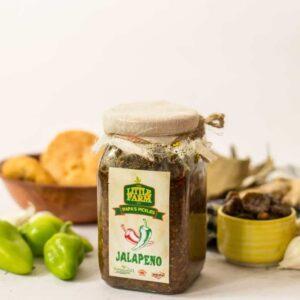 The Little Farm Co Jalapeno Pickle 400g