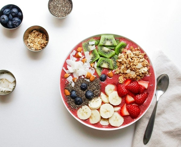 Smoothie Bowl a weight loss breakfast