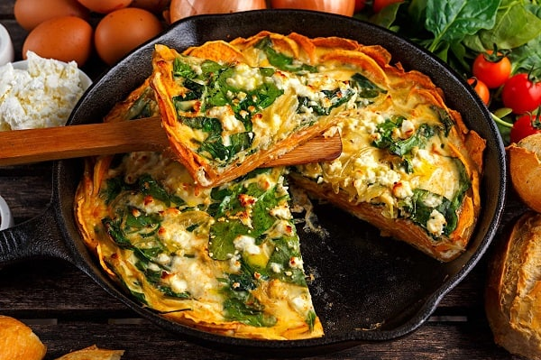 Spinach-Goat-Cheese-Quiche
