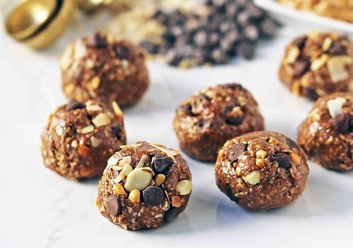 Healthy Office Snacks Protein Balls