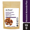Buy Jus' Amazin - Sweet & Salty Roasted Almonds Coated with Flax Seeds - 19g (Organic) Online