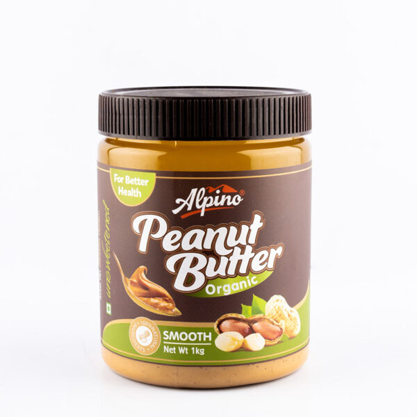 alpino-organic-natural-smooth-peanut-butter-1kg