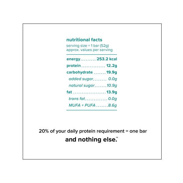Buy And Nothing Else - Coffee Cocoa Protein Bar - 52g (Gluten Free) Online