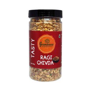 Shop Graminway - Tasty Ragi Chivda - Breakfast - 100g Online