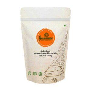 Shop Graminway - Gluten Free Masala Jowar Upma Mix - 800g Online