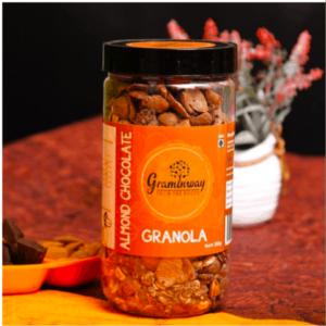 Shop Graminway - Almond Chocolate Granola - Breakfast - 300g Online