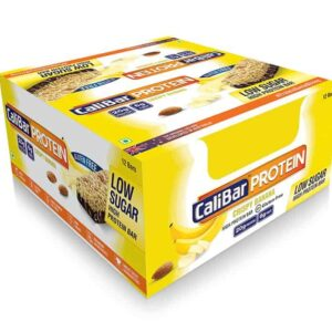 Shop CaliBar - Crsipy Banana Low Sugar - Protein Bar - (Pack of 12 bars) - 840g Online