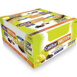 Shop CaliBar - Lemon Peel Low Sugar - Protein Bar - (Pack of 12 Bars) - 840g Online