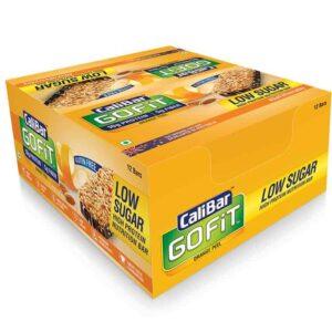 Shop CaliBar - GoFit - Orange Peel Low Sugar - Protein Bar - (Pack of 12 Bars) - 480g Online