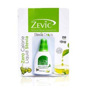 Shop Zevic - Stevia Liquid 250 Drops - 15ml (Zero Calorie Natural Sweetener) Online
