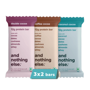 Shop And Nothing Else - Gluten Free Variety Pack of 6 Protein Bars - 312g Online