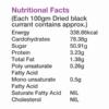 Buy Nut n Seeds - Black Currant Dried Fruit - 150g (Gluten Free) Online
