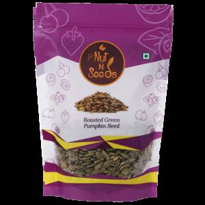 Shop Nut n Seeds - Roasted Green Pumpkin Seeds - 250g (High Protein) Online