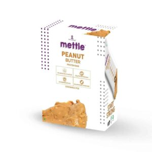 Shop Mettle - Gluten Free Peanut Butter Protein Bar (Pack of 6) - 360g Online